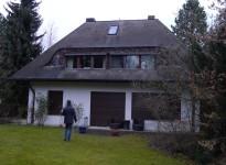 Haus mit Asbest