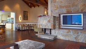 Wohnbereich gestaltet durch Atelier Minarik