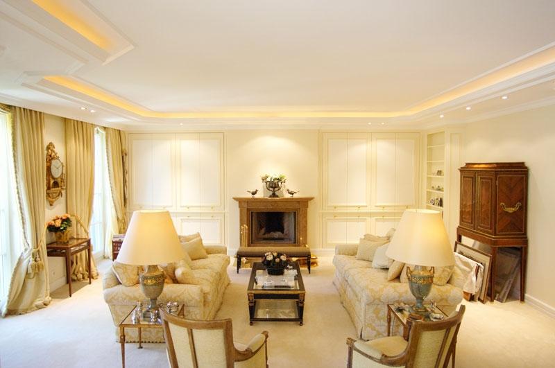 Interior Design in einer Privatwohnung