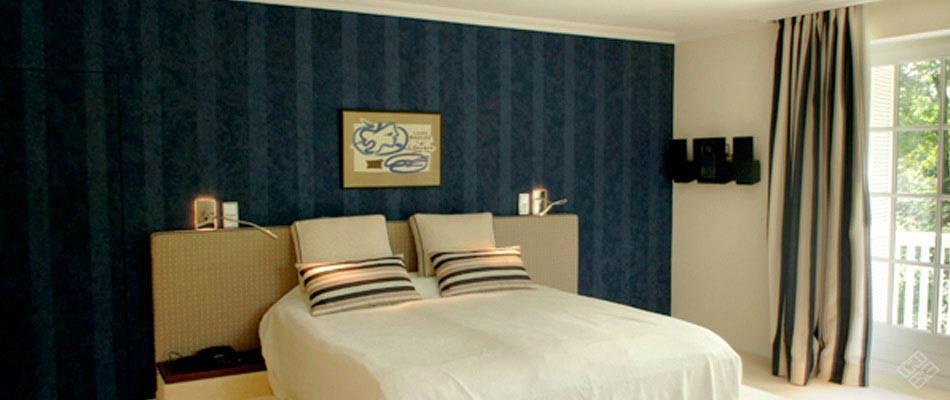 Schlafzimmer gestaltet durch Atelier Minarik