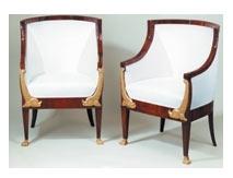 Antiquitäten: zwei Sessel