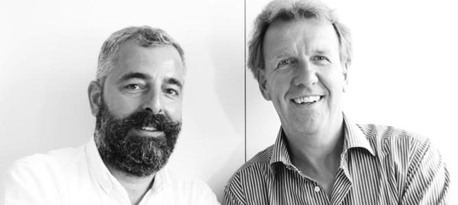 Industrial Designer Andreas Möller mit Innenarchitekt Sebastian Minarik