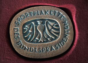 Sportplakette-Bundespraesident