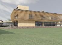 Rendering Gebäude Innenarchitektur