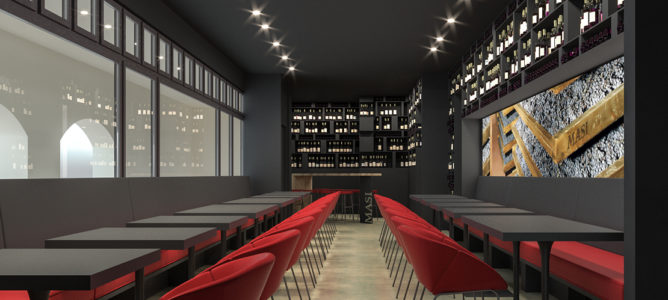 Masi Wine Bar Munich Rendering